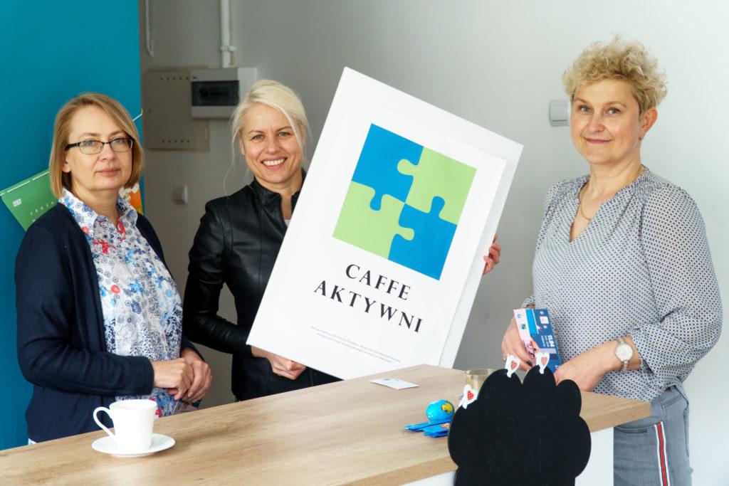 Od lewej: Klaudia Tarasiewicz, Joanna Rychlik iBeata Weiner