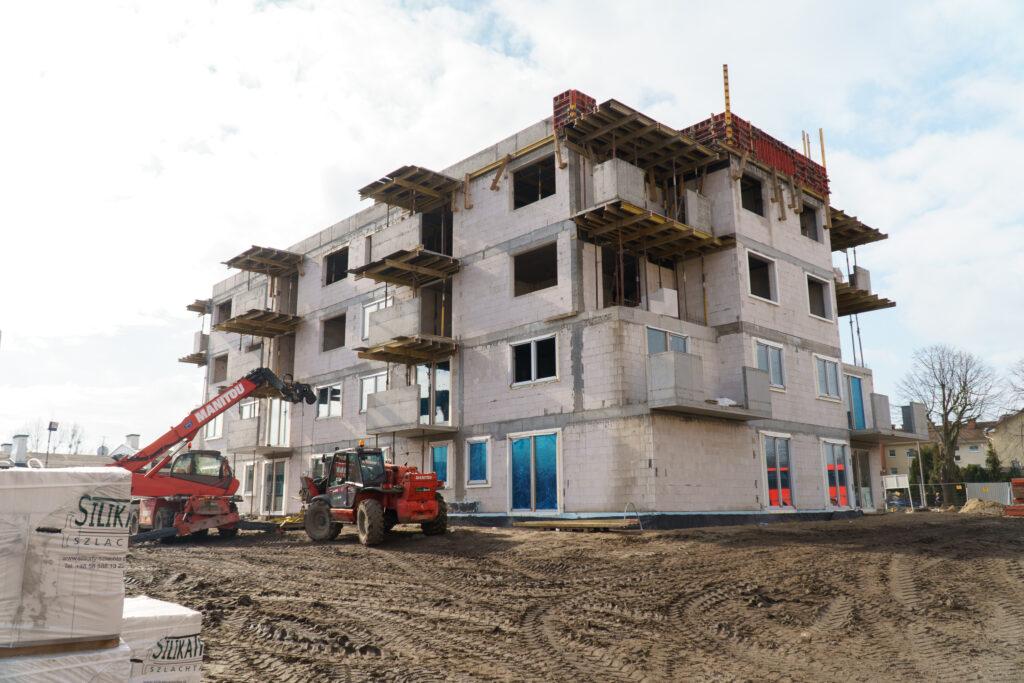 Budowa bloku komunalnego bezbarier naOksywiu // fot.Aleksander Trafas