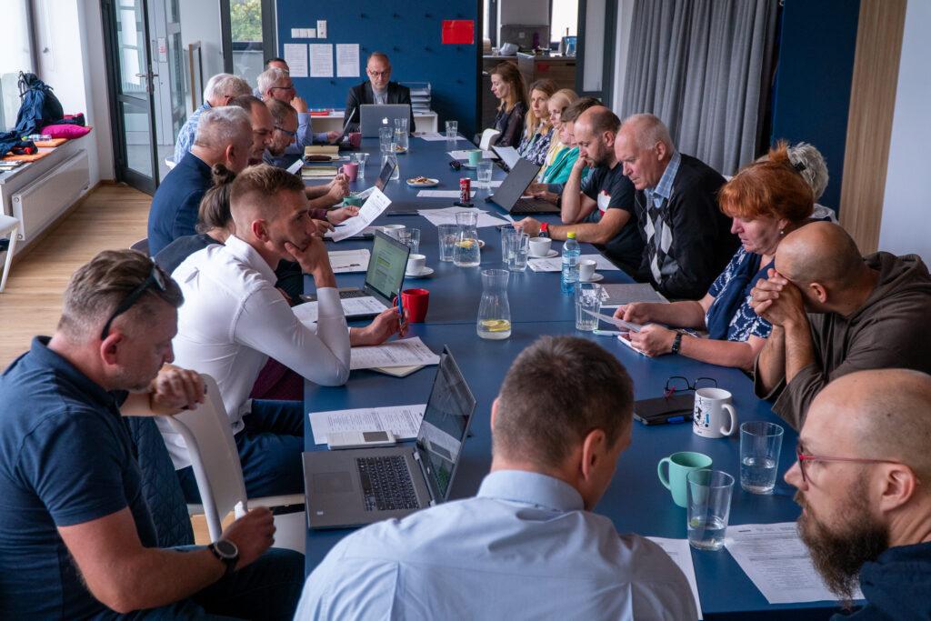 Posiedzenie Komitetu Rewitalizacji wPrzystani Opata Hackiego 33 // fot.Aleksander Trafas