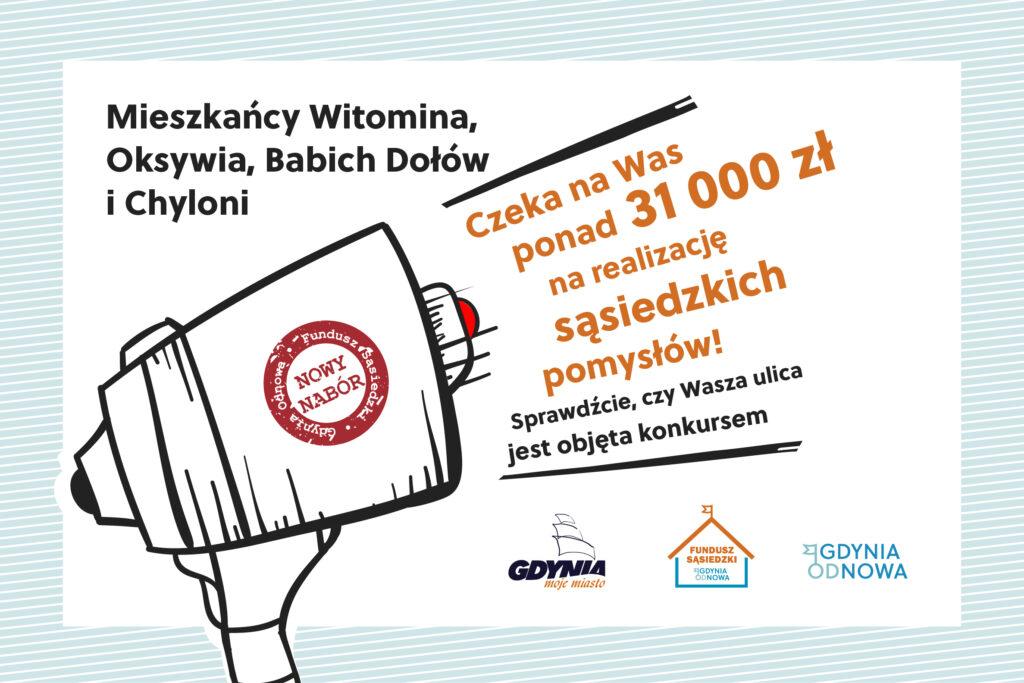 """Grafika Funduszu Sąsiedzkiego """"Gdynia OdNowa""""//materiały Laboratorium Innowacji Społecznych"""